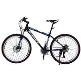 VIVA Comet Hi-Ten MTB Zero 26 21sp [L3110] - Black/Blue - Sepeda Gunung / Mountain Bike / MTB